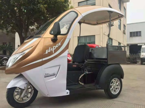 cheap open type electric trike for passenger and cargo