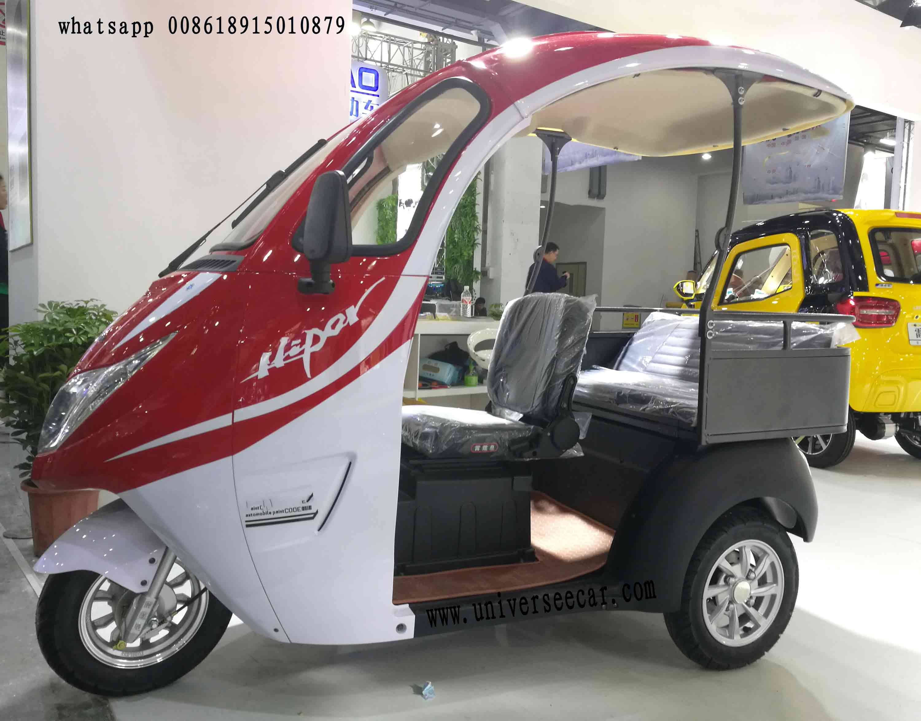 only cheap pvc material electric cargo tricycle for Pakistan