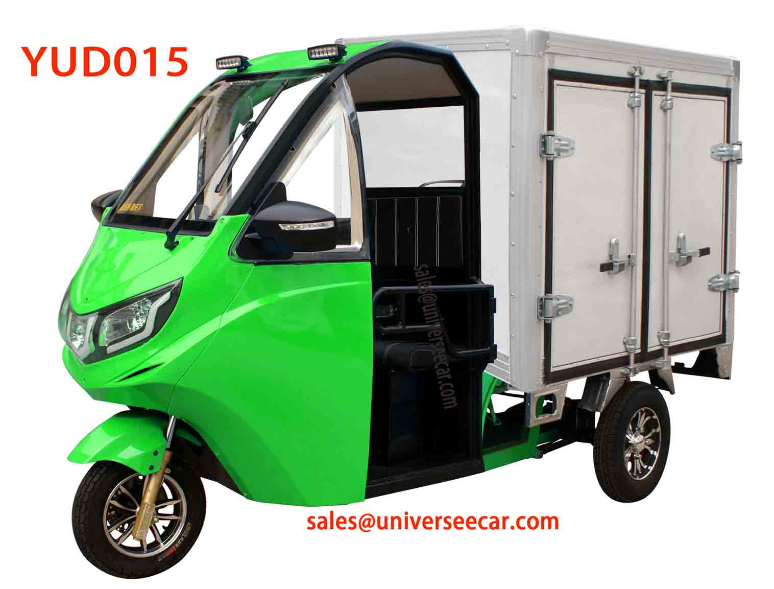 YUD015 electric batery van pick up car for sell