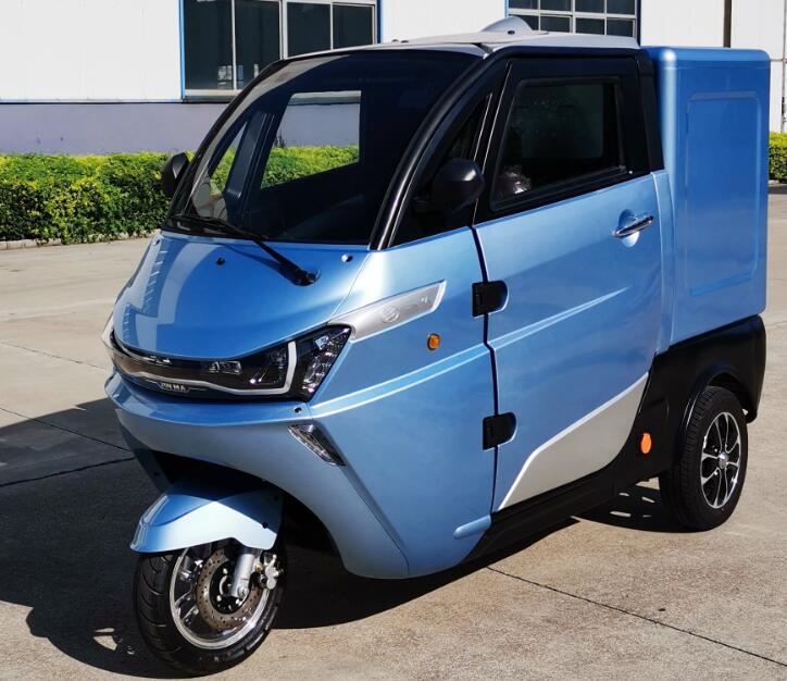 Super charge food delivery electric tricycle