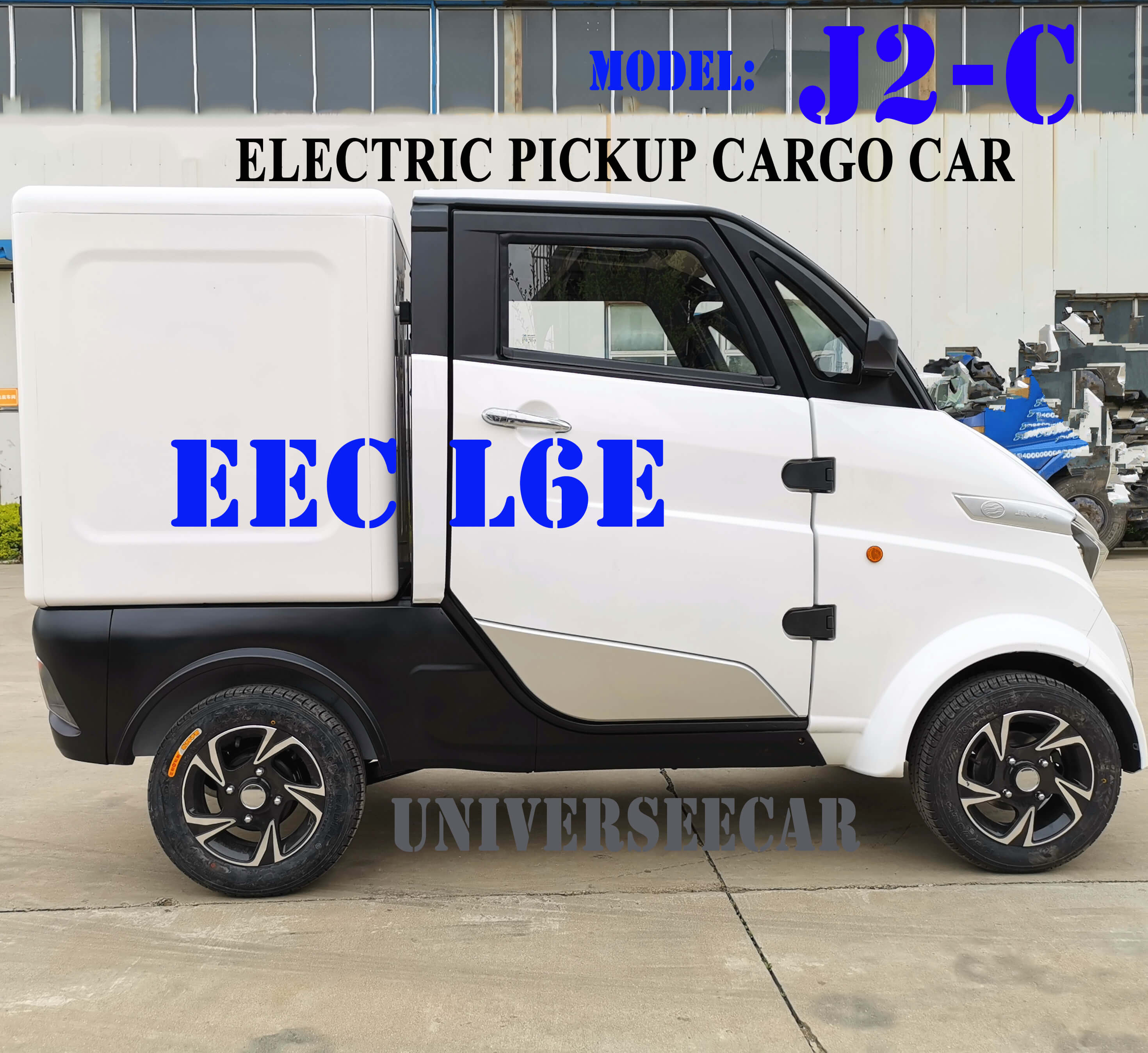 electric pickup trucks uk with EEC certificate for Germany market sell
