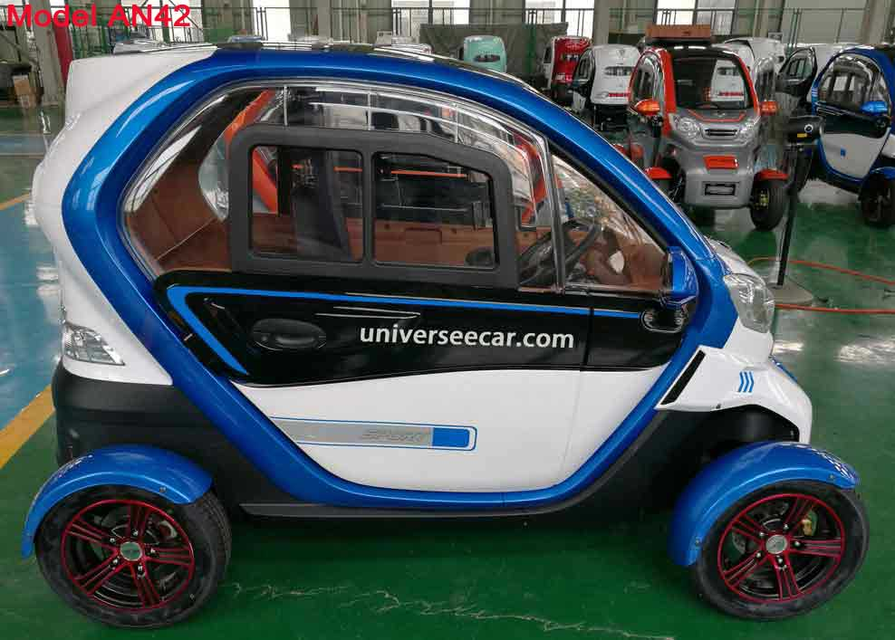 EEC L6E four wheels electric car for Europe