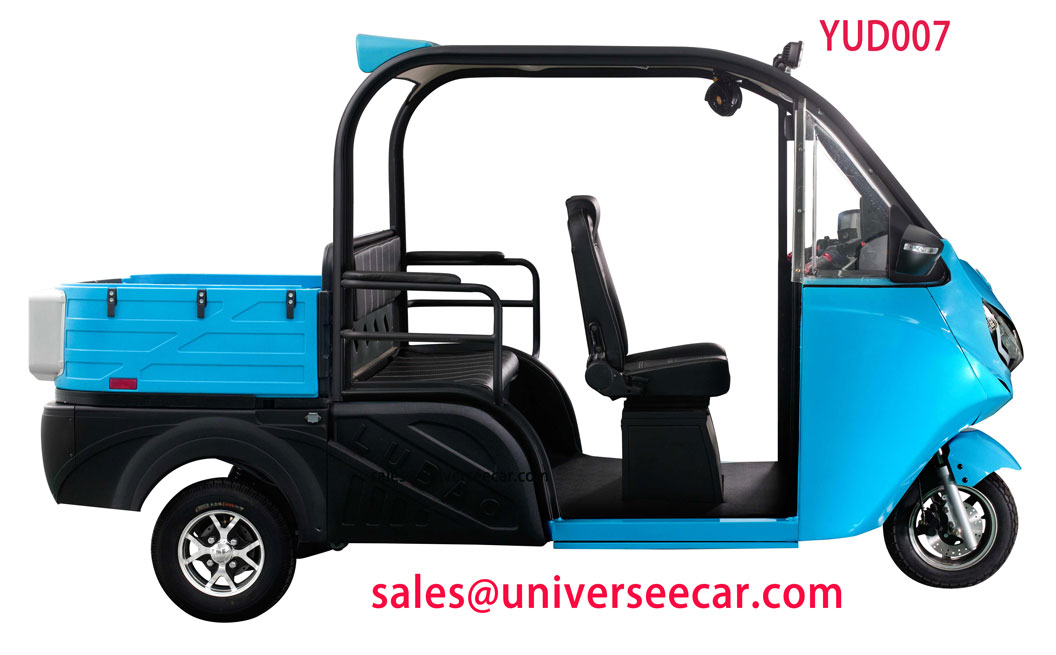 YUD007 open type electric power trike for passenger in Vietna