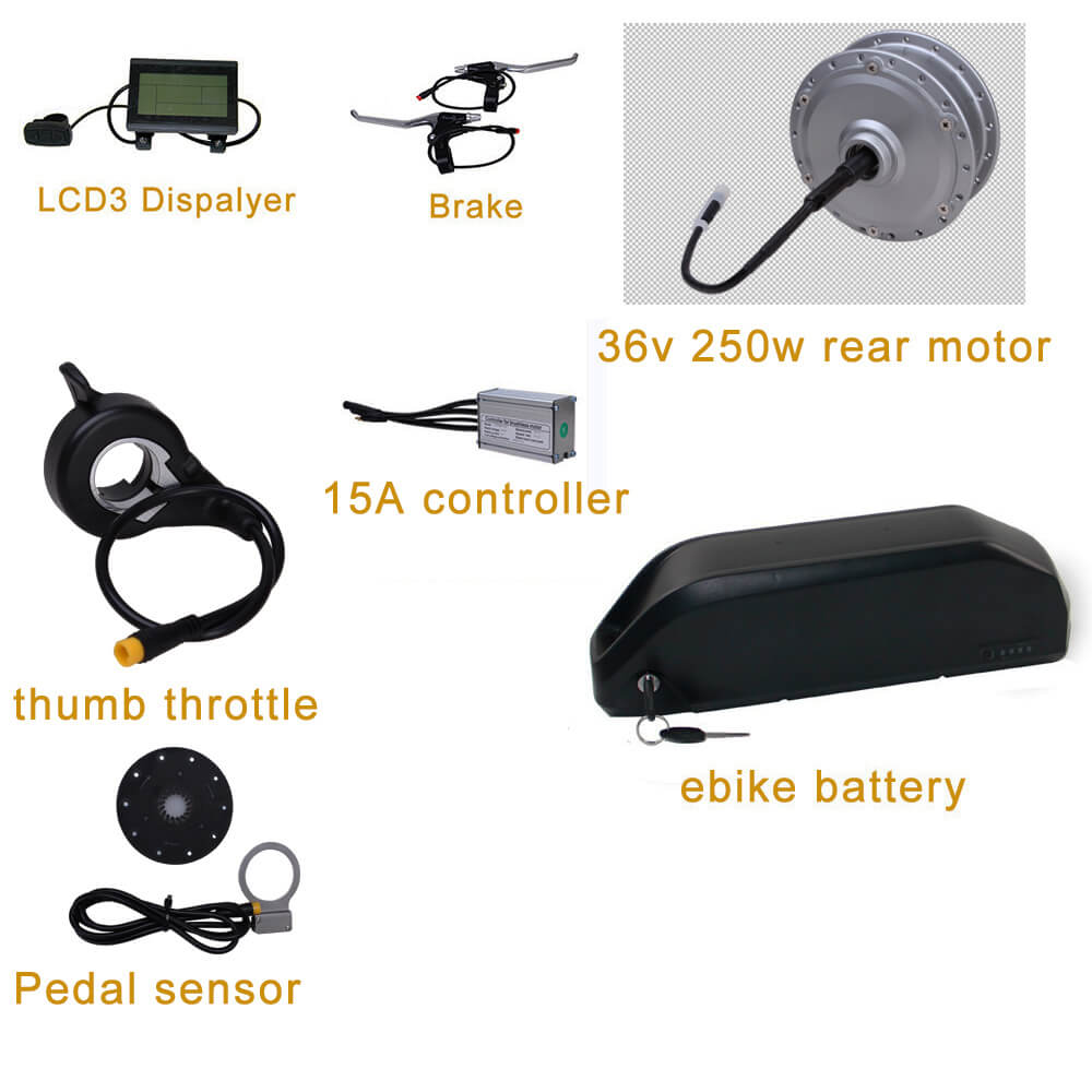 e bike kit with battery